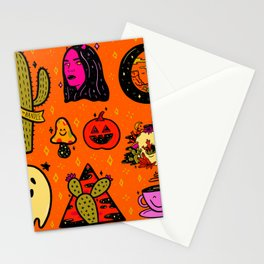 Tattoo Flash Sheet Stationery Cards