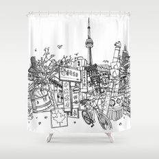 Toronto! Shower Curtain