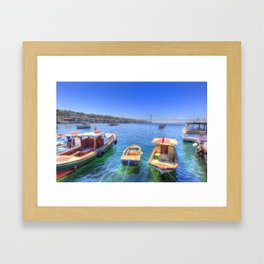 The Bosphorus Istanbul Framed Art Print
