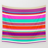 bubblegum Wall Tapestries featuring Bubblegum by Rachel Bouch