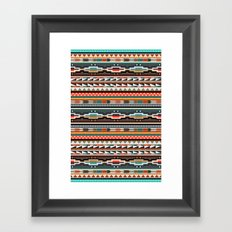 Textile Framed Art Print