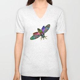 Goth Moth Unisex V-Neck