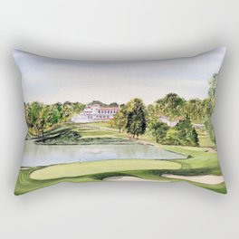 The Congressional Golf Course 10th Hole Rectangular Pillow