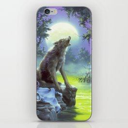 The Werewolf of Fever Swamp iPhone Skin