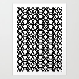 Abstract pattern II Art Print