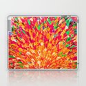 NEON SPLASH - WOW Intense Dash of Cheerful Color, Bold Water Waves Nature Lovers Modern Abstract  by ebiemporium