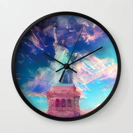 Welcome To The Bright Side Wall Clock
