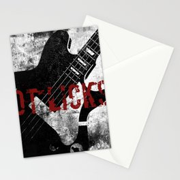 Rock n' Roll Guitar Stationery Cards