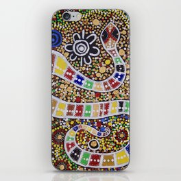 THE RAINBOW SERPENT iPhone Skin