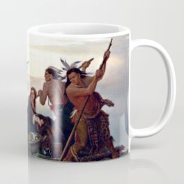 The Abduction of Boone's Daughter by the Indians Coffee Mug