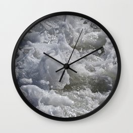 Foaming Sea Wall Clock
