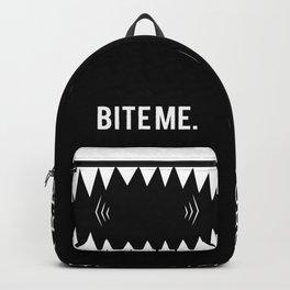 BITE ME backpack Backpack