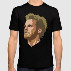 Juan Mata MEDIUM Mens Fitted Tee Black