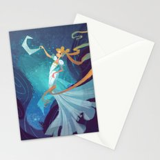Serenity on the Moon Stationery Cards