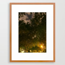 Through the tunnel of dreams Framed Art Print