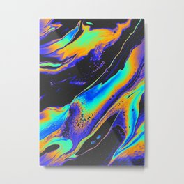 CAN'T LEAVE THE NIGHT Metal Print