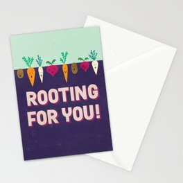 Rooting for You! Stationery Cards