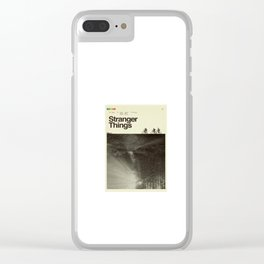 STRANGER THING Inspired Clear iPhone Case