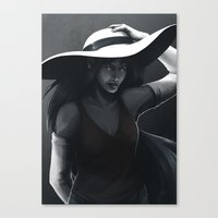 marceline Canvas Prints featuring Marceline by Julia