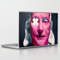 frank sinatra Laptop & iPad Skins featuring Frank by Alec Goss