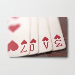 deck of love Metal Print