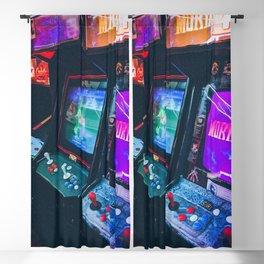 Arcade Machines Blackout Curtain