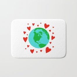 Love the Earth, Save the Earth Bath Mat