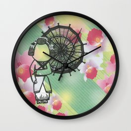 The Second Beautiful Geisha Wall Clock