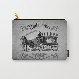 Vintage Style Undertaker Carry-All Pouch