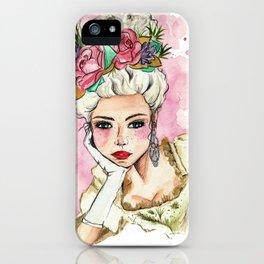 Print Maria Antonieta iPhone Case