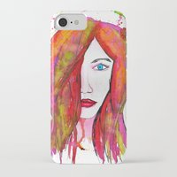 valentina iPhone & iPod Cases featuring Valentina by Laurie Art Gallery