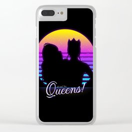 All hail the queens! Clear iPhone Case