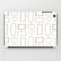 frames iPad Cases featuring Frames by Sarah Liddell