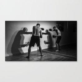 Shadow Boxing Canvas Print