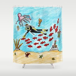So Much To Sea Shower Curtain