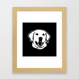 LABRADOR DOG Framed Art Print