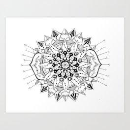 Mandala Series 03 Art Print