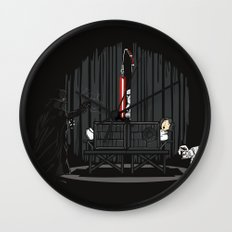 The Dark Side of Magic Wall Clock