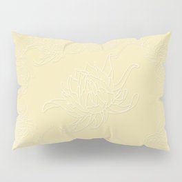 Pear Sorbet Dahlia Pillow Sham