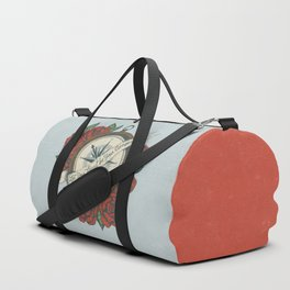 Let Your Heart Be Your Compass Duffle Bag