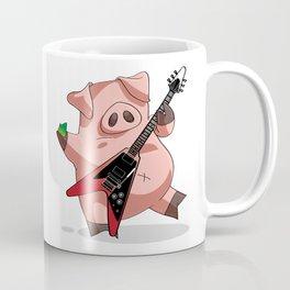 Rock'nRoll Pig Coffee Mug