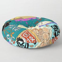 Sumo Print Floor Pillow