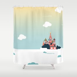 Moscow Shower Curtain
