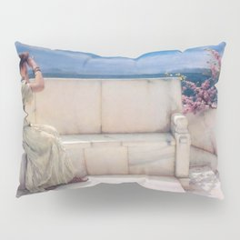Expectations by Sir Lawrence Alma Tadema   Reproduction Pillow Sham