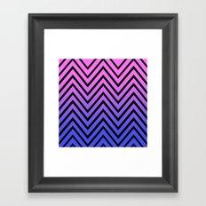 Donata Chevron Framed Art Print