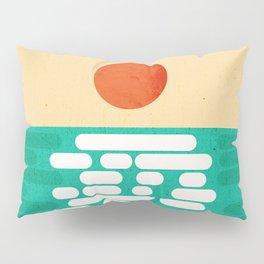 Sun over the sea Pillow Sham