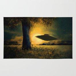 UFO at Twilight Rug