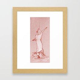 Memories form memory Framed Art Print