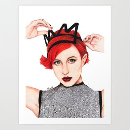 Hayley Williams  Art Print