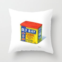 Old Bay Throw Pillow